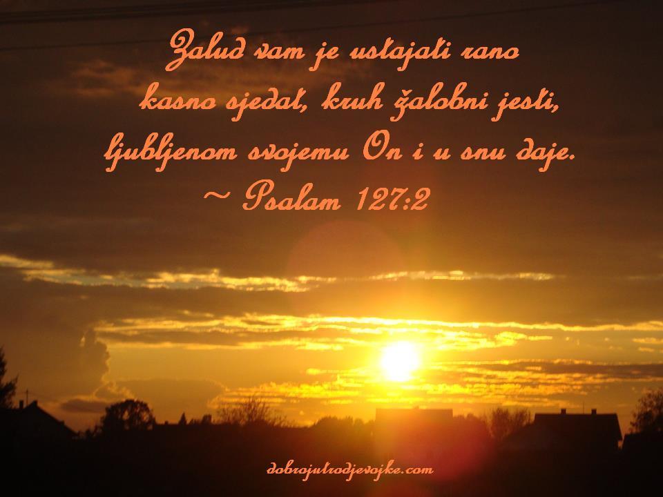 Psalam 127-2